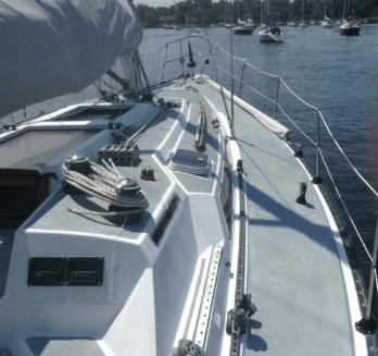 Starboard top deck