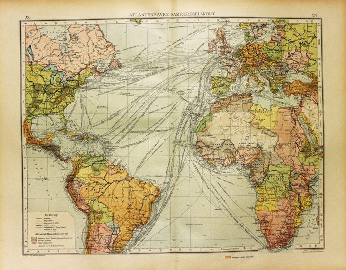 sailing routes pic