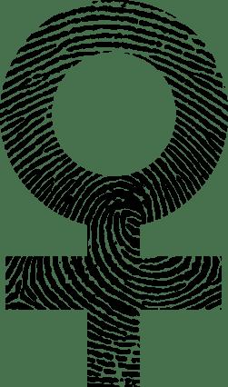 Female-Symbol-Fingerprint