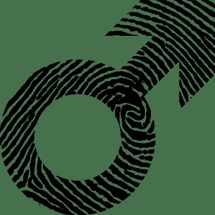 Male-Symbol-Fingerprint