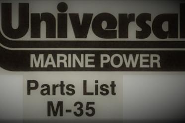 M35 parts list
