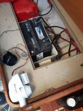 High water alarm wiring