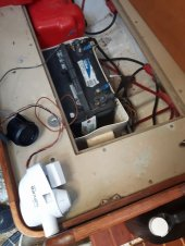 High water alarm wiring