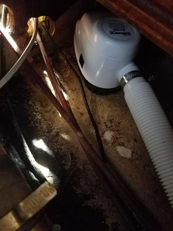 New high water bilge